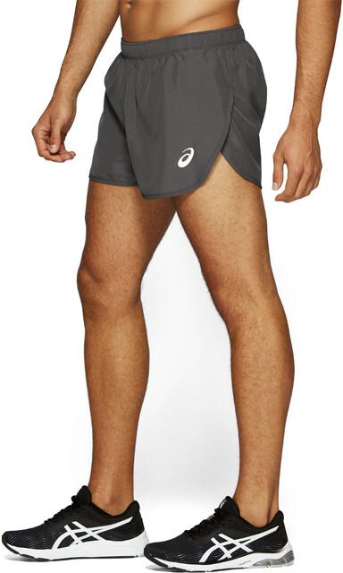 asics silver shorts
